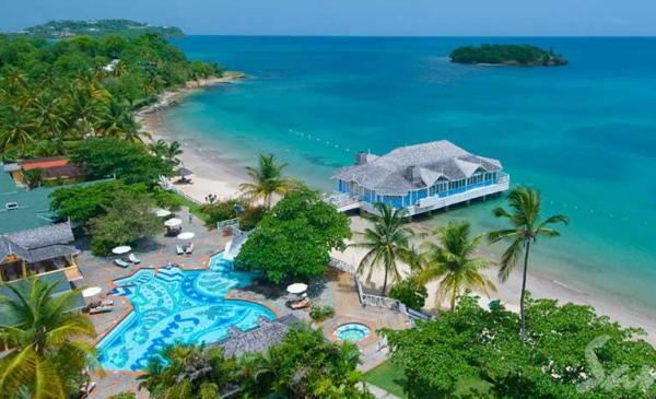 Sandals Halcyon Beach, St Lucia